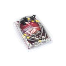 HEL tressé conduites de frein pour RENAULT TWINGO 2 1.6 RS 2007 -