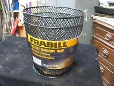"FRABILL Deluxe Minnow Trap 16-1/2"" New"