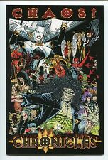 Chaos! Chronicles #1 Premium Variant Justiniano Cover Lady Death Checklist HTF