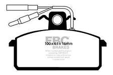 DP410/2 EBC ULTIMA Pastillas de Freno Frontales Para Lancia Delta Thema