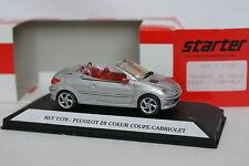 Starter Resina 1/43 - Peugeot 20 Corazón CC Abierto