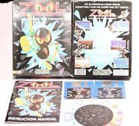 "ZOOL For The AMIGA A500/A600/1200/A1500  By Gremlin 3.5"" Floppy Disc 1MEG 1992"
