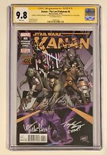 KANAN - THE LAST PADAWAN #6 • CGC SS 9.8 • SIGNED BY CAST OF STAR WARS REBELS