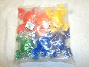 Sportime Indestructible Bean Bag Frogs~Setof 6~New!