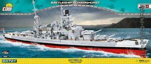 COBI  Scharnhorst   /  4818  /  2472  WWII   German battleship