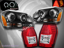 2005-2007 DODGE MAGNUM DUAL CCFL HALO LED PROJECTOR HEADLIGHTS + TAIL LIGHTS LED