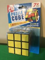 Magic Rubix Cube 3x3x3 Smooth Speed 3D Puzzles Cube With Vivid Color Durable NEW