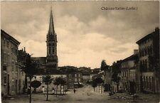 CPA  Chateau-Salins - Lothr. - Rue - Scene  (387850)