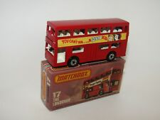 MATCHBOX SUPERFAST n°17 THE LONDONER BISTO BASE PLASTICA MIB