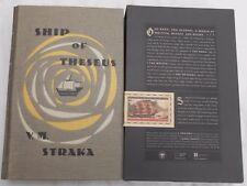 V,M,STRAKA- SHIP OF THESEUS BY J.J.ABRAMS -DOUG DORST