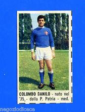 CORRIERE DEI PICCOLI 1966-67 - Figurina-Sticker - COLOMBO - NOVARA -New