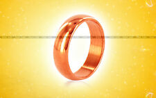 Copper Astrology Ring India Sun Surya Tamba Solid Band Size US 3
