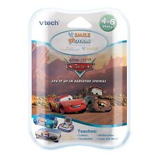 BRAND NEW VTECH V Smile Motion Disney Cars Rev it Up Learning Game *FREE P&P*