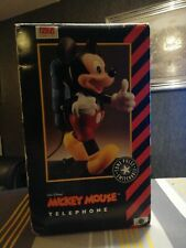 Vintage Collectible boxed Rare Mickey Mouse Telephone  Walt Disney