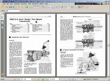 Ford Tremec TopLoader Overdrive 4 Four Speed Rebuild