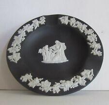 Wedgwood Black Jasperware Tray 1971