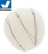 Viessmann N 6221 lightbulb clear (3 Piece)- NEW + IN ORIGINAL BOX #V4