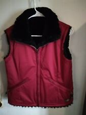COLD AS ICE reversible vest Women's Medium WORN ONCE