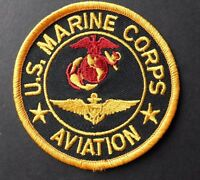 US MARINE CORPS USMC MARINES AVIATION EMBROIDERED PATCH 3 INCHES