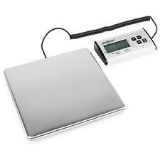 oneConcept Marketeer Balance Pèse-colis numérique balance 150kg/50g 27x27cm