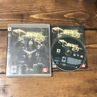The Darkness (Sony PlayStation 3, 2007)- Complete