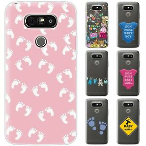 Dessana Baby TPU Silicone Protective Cover Phone Case Cover For LG