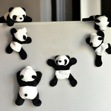 1Pc Cute Soft Plush Panda Fridge Magnet Refrigerator Sticker Home Decor Souvenir