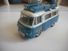 "Corgi Toys Commer Bus 2500 Series ""Samuelson Film Service Limited"" in Blue/White"