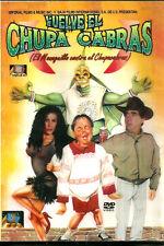 VUELVE EL CHUPA CABRAS * New DVD * 2000 Pelicula*  Manuel Ibanez, Patricia Muñoz