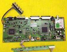 "Placa Principal AV LEU-20A CPU (principal) b/d Rev.: 1.0 + Botones para Humax LEU-20A de 20"" TV"