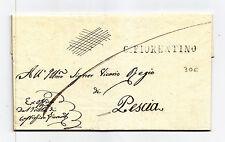 P836-TOSCANA-PREF.CASTIGLION FIORENTINO/PESCIA 1838