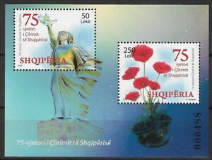 Albania Stamps Year 2019 75th Anniversary of Liberation of Albania MNH