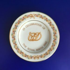 WEDGWOOD  ROYAL BIRTH OF  PRINCE WILLIAM 1982  PIN TRAY /SWEET DISH/ COMPOTIER