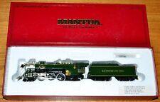 HO Gauge Train Mantua President Adams B&O Steam Locomotive Engine & Tender 4000