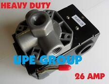Pressure Switch Control Air Compressor 90 125 4 Port Heavy Duty 26 Amp