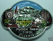 Fügen Tirol stocknagel medallion badge G4984