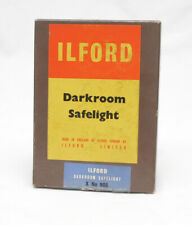Used Ilford 5x7 Safelight Filter Olive Green X-Ray 905