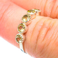 Citrine 925 Sterling Silver Ring Size 5.75 Ana Co Jewelry R51219F