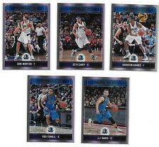 2017-18 Panini NBA Hoops Prem Online Exclusive Dallas Mavericks Team Set /199