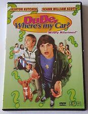 DUDE, WHERE'S MY CAR DVD (#DVD01319)