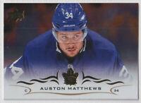 2018-19 Upper Deck Silver Foil Parallel Auston Matthews Toronto Maple Leafs