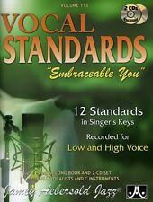 Jamey Aebersold - Vocal Standards: Embraceable You [New CD] With Book