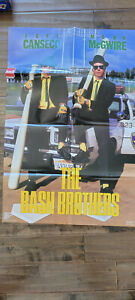 1989 COSTACOS BROS BASH BROTHERS POSTER MARK MCGWIRE JOSE CANSECO ATHLETICS A'S
