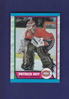Patrick Roy HOF 1989-90 O-PEE-CHEE OPC Hockey #17 (NM) Montreal Canadiens
