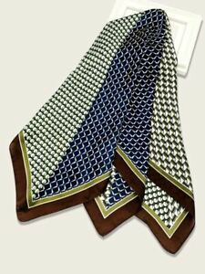 Men's Scarf Bandana Square Lapel Kerchief 27.6 inches