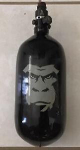 Gorilla Paintball 70CI/4500PSI W/Pro V2 Regulator Carbon Fiber Air Tank HPA
