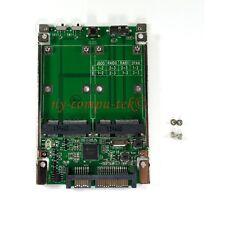"""2.5"""" Mini PCI-E mSATA SSD RAID Adapter to SATA 22p & USB 3.1 Hardware Raid Card"""
