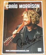 2014 CRAIG MORRISON signed CMA Music Festival Promo Photo