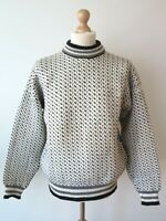 Dale Of Norway Men's Pure Wool Nordic Crew Neck Jumper Sweater Pullover Size L