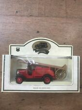 lledo 1934 Dennis Fire truck Diecast Model Refinery Fire Truck Made In England